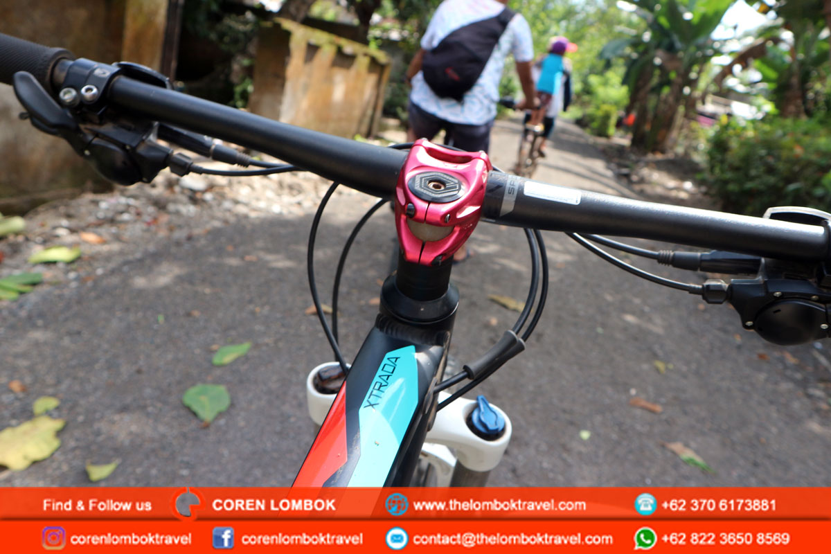 biking tour lombok